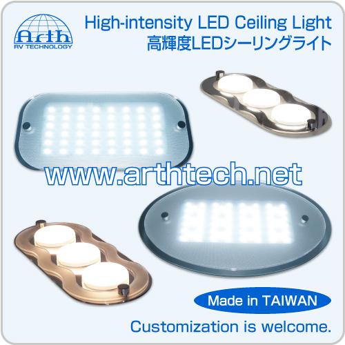 High-intensity LED Ceiling Light, RV High-intensity LED Ceiling Light