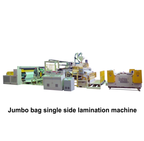 01.Jumbo bag single side lamination machine
