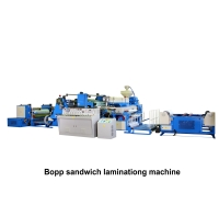 04. Bopp sandwich laminationg machine