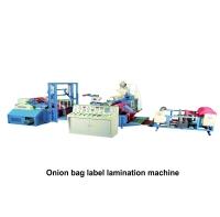 06. Onion bag label lamination machine