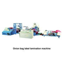 06. Onion bag label lamination machine