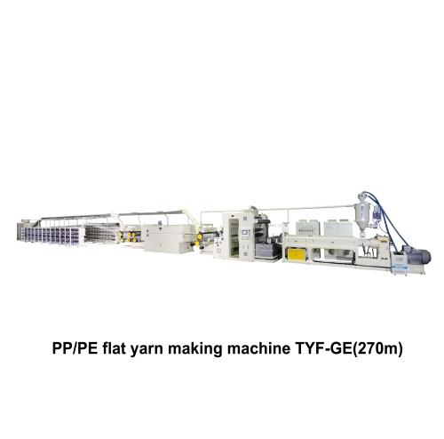 01. PP/PE Extrusion Tape Line Making Machine TYF-GE(270m)