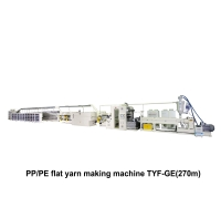 01. PP/PE Extrusion Tape Line Making Machine TYF-GE(270m)