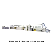 03. Three Layer PP Extrusion Tape Line Making Machine TYF-TL(420米)