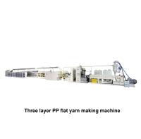 03. PP三层扁纱制造机 TYF-TL(420米)