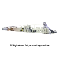 04. PP High Denier Extrusion Tape Line Making Machine TYF-JB(150-300米)