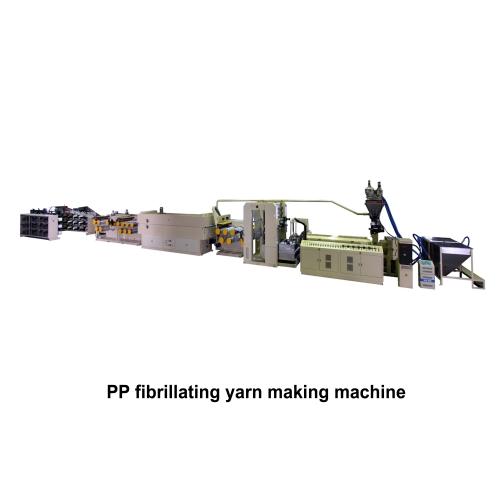 05. PP Fibrillating Yarn  Making Machine