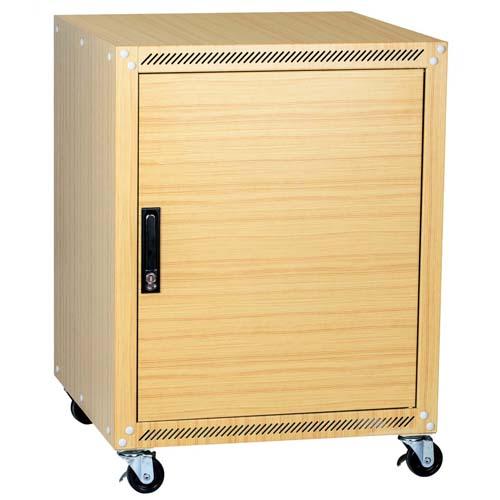 Wood-grain computer housing