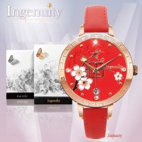 Engagement with Time - The Twelve-Months Flora Series Watch Collection–January