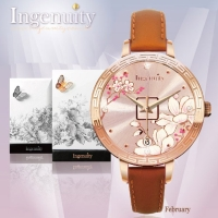 Engagement with Time - The Twelve-Months Flora Series Watch Collection–February