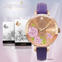 Engagement with Time - The Twelve-Months Flora Series Watch Collection–March