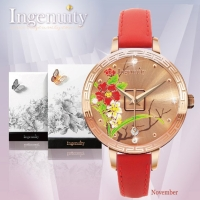 Engagement with Time - The Twelve-Months Flora Series Watch Collection–April