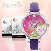 Engagement with Time - The Twelve-Months Flora Series Watch Collection–May
