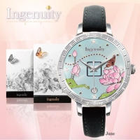 Engagement with Time - The Twelve-Months Flora Series Watch Collection–June