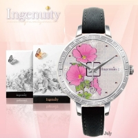Engagement with Time - The Twelve-Months Flora Series Watch Collection–July