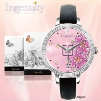 Engagement with Time - The Twelve-Months Flora Series Watch Collection–August