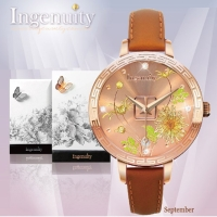 Engagement with Time - The Twelve-Months Flora Series Watch Collection–September