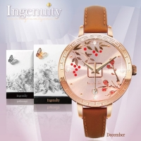 Cens.com Engagement with Time - The Twelve-Months Flora Series Watch Collection–October NEW CLASSIC DESIGN CO., LTD.