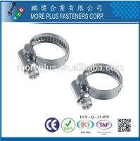 Cens.com European Style Hose Clamp MORE PLUS FASTENERS CORPORATION