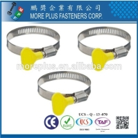 Cens.com Butterfly Hose Clamp MORE PLUS FASTENERS CORPORATION