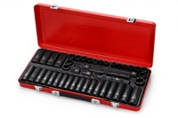 49pcs 1/2Dr.impact socket set,CR-MO