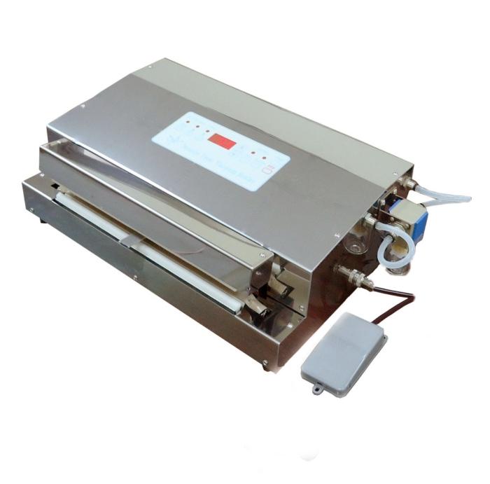Nozzle type vacuum sealing machine