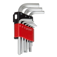 Short-arm hex key wrench set
