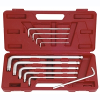 10pc extra-long ball point hex key wrench set