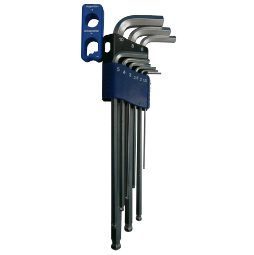 Magnetic Or Demagnetic Ball Or Hex Key Wrench (Short,Long,Extra Long)