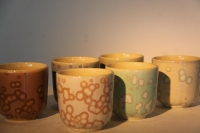 Cens.com Six-colored cups HSIANG-YI CERAMIC STUDIO