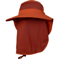 UV Hat With Removable Flap & Mesh Mask