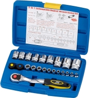 3 in 1 Magical wrench 20+3 socket set