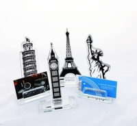 Travel Round the World Award/Trophy/Memo Holder