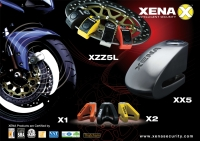 XENA Disc Brake Lock w/Siren