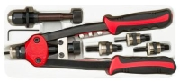 Effortless two-function industrial riveter nut & blind riveter