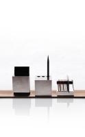 Cube stationery tray set