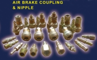 Air Brake Coupling and Nipple for Heavy Duty Vehicle