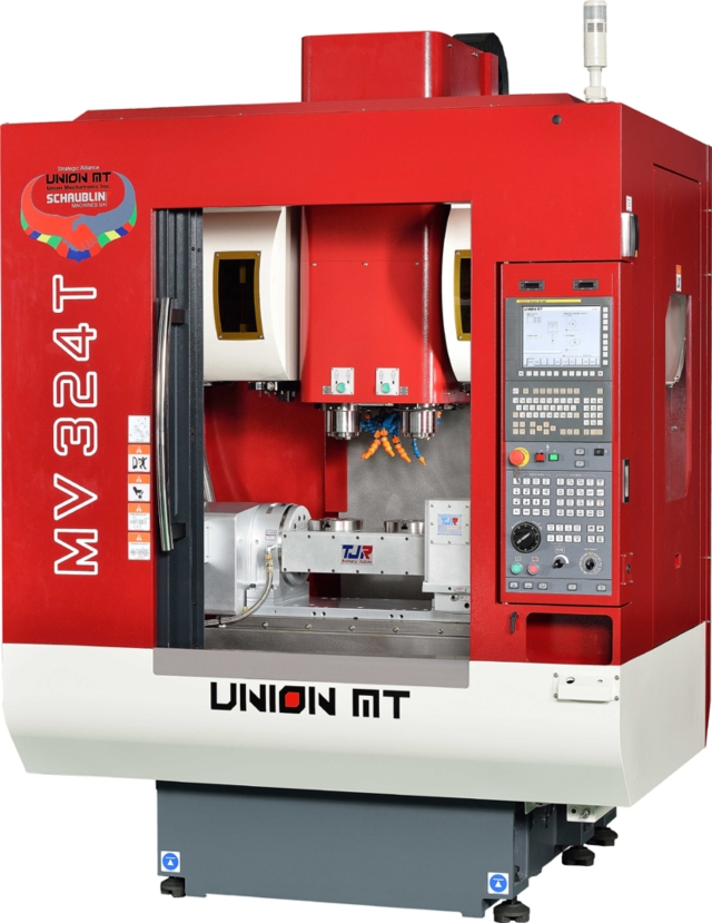 High Efficiency 2 Spindle Vertical Machining Center