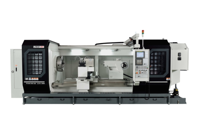 Heavy Duty Precision CNC Lathe