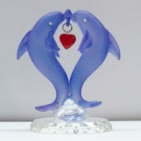 Cens.com Glass Dolphin Ornaments KEN REX INT'L CO., LTD.