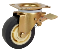 European Style TPR Casters