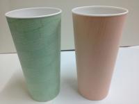 壓紋塑膠杯