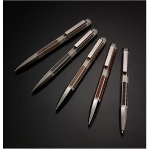 Twist action ballpoint pen