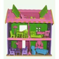 3D Large Foam Villa with Furniture Puzzles/Foam Puzzle/3D Foam House/Educational Toy