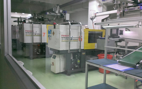 Our injection machines.