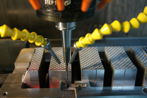CNC machine for mould making