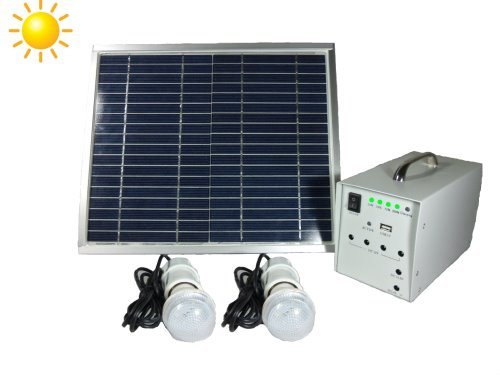 Portable Solar lighting kit with mobile phone charging feature