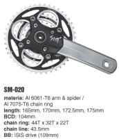 Cens.com SM-020 MTB crank sets I-PLUS DESIGN CO., LTD.
