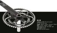 SR-120 road crank sets