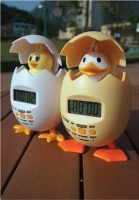 POPPY CHICK & DUCK alarm clock & timer